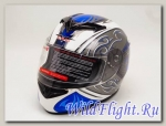 Шлем Vcan 121 интеграл white / lib-bu