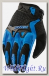 Перчатки THOR SPECTRUM BLUE YOUTH GLOVE