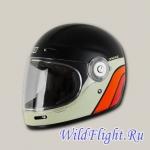Шлем (интеграл) Origine VEGA Classic черный/белый/красный матовый