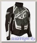Куртка зимняя ATV/снегоход FLY RACING SNX PRO черная/белая (2015)