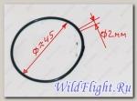 Кольцо уплотнительное 43.5х2мм, резина LU022777