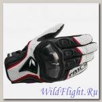 Перчатки кожаные RS Taichi RST422 black/white r