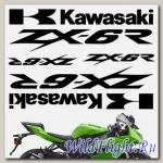 Комплект наклеек Crazy Iron KAWASAKI ZX-6R