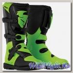 Ботинки THOR YOUTH BLITZ BLACK/GREEN BOOT