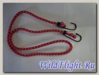 Резинка для крепления багажа (1шт*1м) с крюками