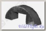 Подушка крепления топливного бака (нижняя), резина LU041841