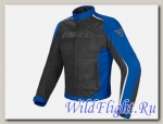 КУРТКА Dainese G. HYDRA FLUX D-DRY - NERO/PRINCESS-BLUE/BIANCO
