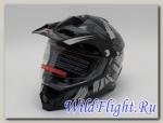 Шлем HIZER B6196-1 #3 black