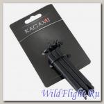 Ключ монтажка, нейлон, 2 шт., для велосипедов, черный KAGAMI