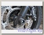 Слайдеры Crazy Iron в ось переднего колеса для BMW F 800S 06/BMW F 800ST 06/BMW F 800R 09